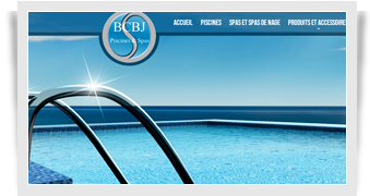 Site Internet BCBJ Piscines et Spas