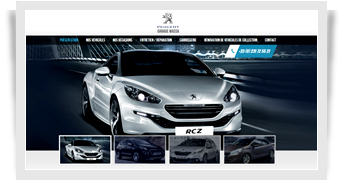 Site Internet peugeot-massa.fr